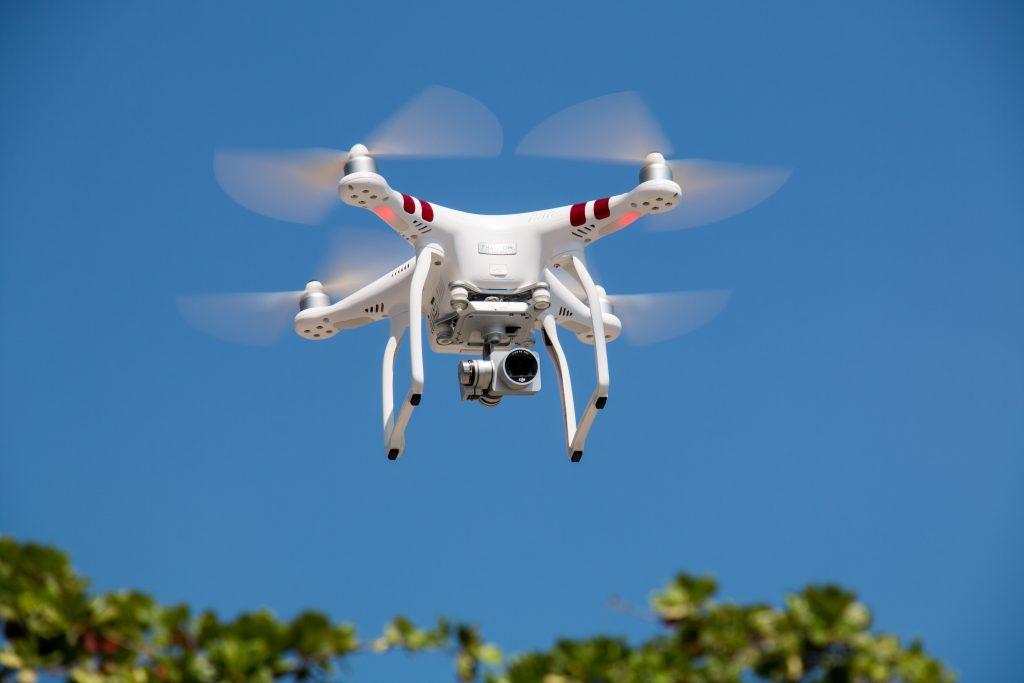 Detektiv Drohne im Einsatz